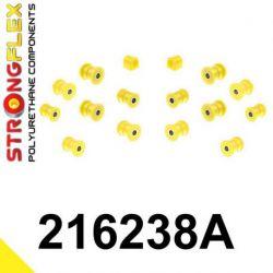 216238A: Zadná náprava - SADA silentblokov SPORT