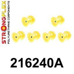 216240A: Zadná nápravnica - sada silentblokov SPORT