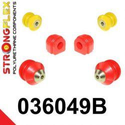 036049B: Predná náprava - SADA silentblokov