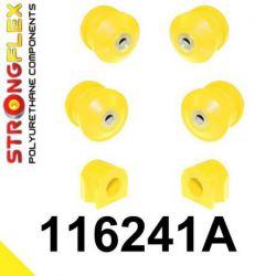 116241A: Predná náprava - SADA silentblokov SPORT
