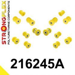 216245A: Zadná náprava - SADA silentblokov SPORT