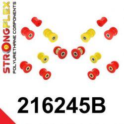 216245B: Zadná náprava - SADA silentblokov
