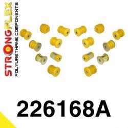 226168A: Zadná náprava - SADA silentblokov SPORT