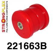 221663B: Zadné vlečné rameno - silentblok do karosérie