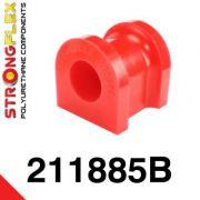 211885B: Predný stabilizátor - silentblok uchytenia