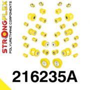 216235A: Kompletná podvozková sada silentblokov SPORT