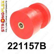 221157B: Zadná nápravnica - silentblok uchytenia 57mm