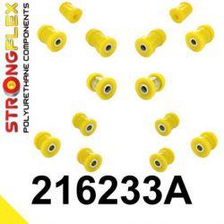216233A: Zadná náprava - SADA silentblokov SPORT