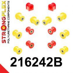 216242B: Zadná náprava - SADA silentblokov