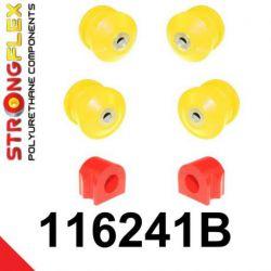116241B: Predná náprava - SADA silentblokov