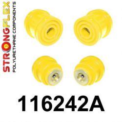 116242A: Zadná nápravnica - sada silentblokov SPORT