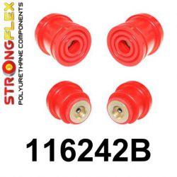 116242B: Zadná nápravnica - sada silentblokov