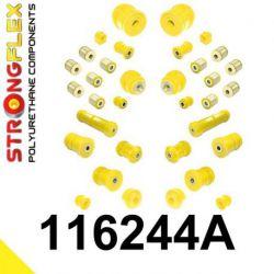 116244A: Kompletná SADA silentblokov SPORT