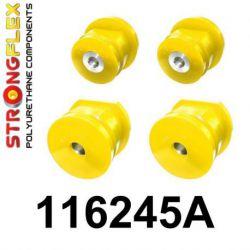 116245A: Zadná nápravnica - sada silentblokov SPORT