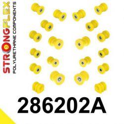 286202A: Zadná náprava - SADA silentblokov SPORT
