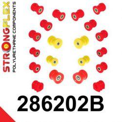 286202B: Zadná náprava - SADA silentblokov