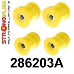 286203A: Zadná nápravnica - sada silentblokov SPORT