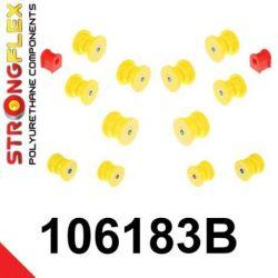 106183B: Zadná náprava sada silentblokov