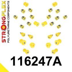 116247A: SADA - predná a zadná náprava W140 SPORT
