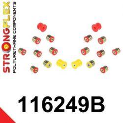 116249B: Zadná náprava - SADA silentblokov