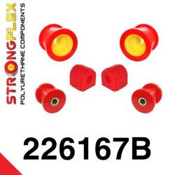 226167B: Predná náprava - SADA silentblokov