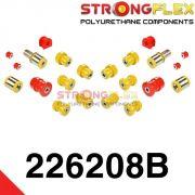 226208B: Zadná náprava - SADA silentblokov