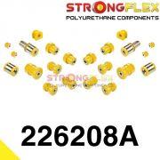 226208A: Zadná náprava - SADA silentblokov SPORT