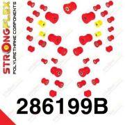 286199B: Sada silentblokov prednej aj zadnej nápravy