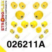 026211A: Predná náprava - sada silentblokov SPORT