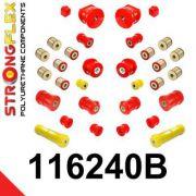 116240B: Full suspension bush kit